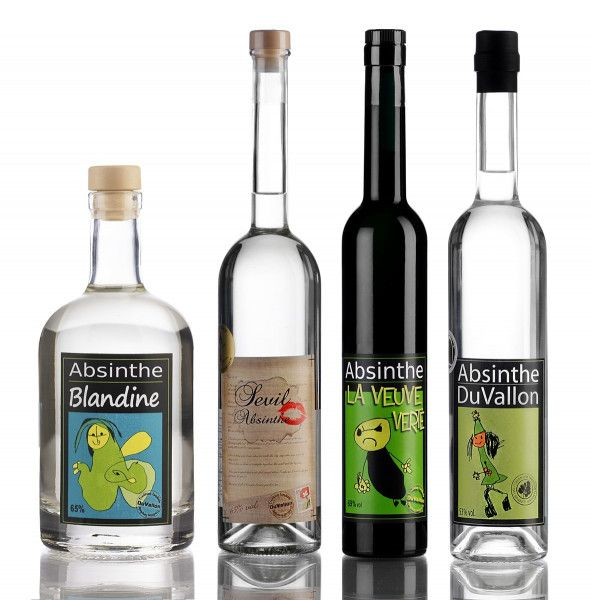 Set Absinthe DuVallon