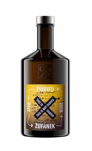 Absinthe This is not Dubied - Zufanek 1798 70% - 50 cl