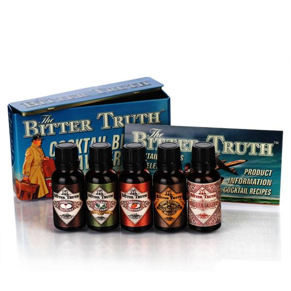 Cocktail Bitters The Bitter Truth - Cocktail Bitters Traveler's Set Gift Tin 5x0,02L 38,2% - 10cl