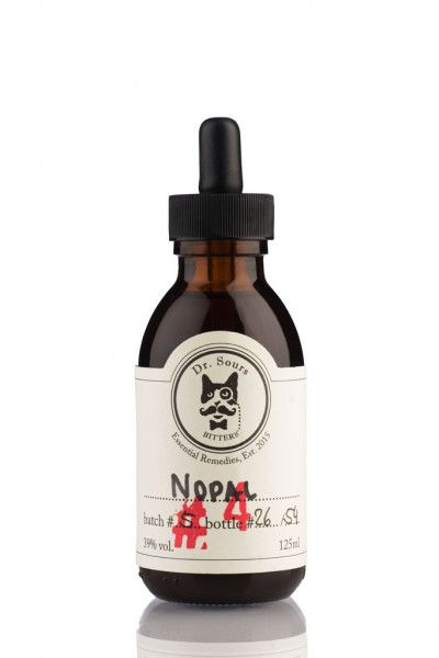 Mexican Cocktail Bitters Dr. Sours #4 - Nopal 39% - Cactus - 12,5cl